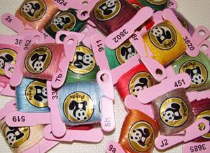 Hilos Panda madejas