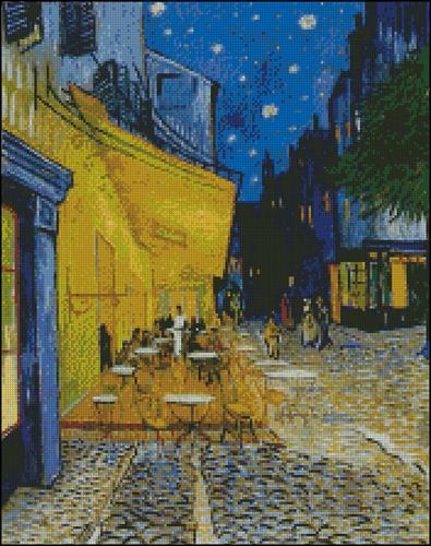 Esquema de Cuadros de Van Gogh en Punto de Cruz (2)