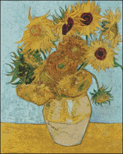 Esquema de Cuadros de Van Gogh en Punto de Cruz (5)