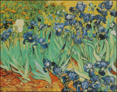Esquema de Cuadros de Van Gogh en Punto de Cruz (6)