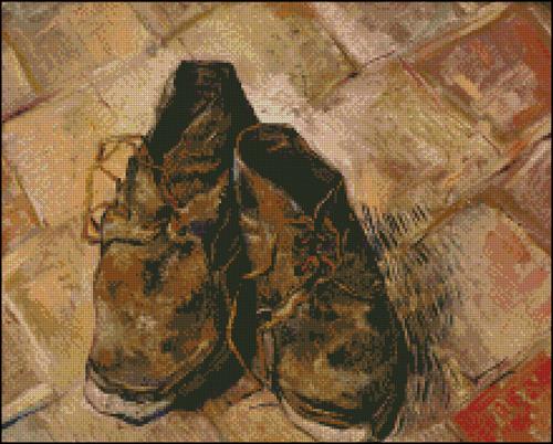 Esquema de Cuadros de Van Gogh en Punto de Cruz (9)