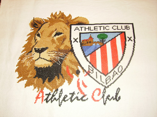 Esquema del Athletic Club de Bilbao en Punto de Cruz (3)
