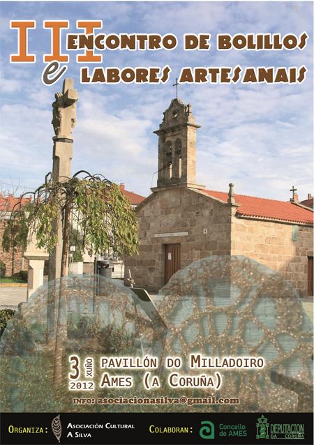 III Edición del Encuentro de Bolillos y Labores Artesanales en Milladoiro (Ames)