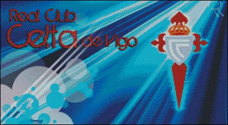 Esquema del Celta de Vigo en Punto de Cruz (2)