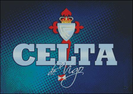 Esquema del Celta de Vigo en Punto de Cruz (3)